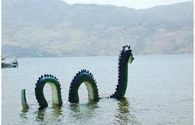 sea monster sightings 2014. Exellent Sea Fabled Sea Serpent Ogopogo Believed To Live In Lake Okanagan BC  Apparently Took An Alberta Holiday 1942 Supplied  SUPPLIED In Sea Monster Sightings 2014