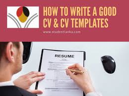 How To Write A Successful Cv Download Cv Templates