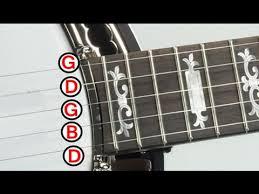 5 String Banjo Tuning Chart 5 String Banjo Tuner
