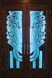 double entry door art deco for larger view