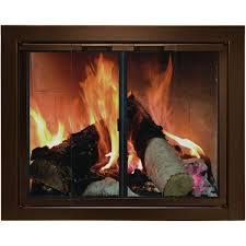 the briggsdale masonry fireplace door