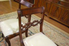 duncan phyfe dining room chairs. Duncan Phyfe Furniture   Details About Mahogany Dining Room Chairs Empire Chair