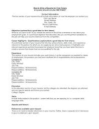 Good References For Jobs What To Put On A Resume For Job Fair Things First Include In Should