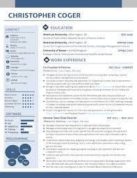 chris coger view resume
