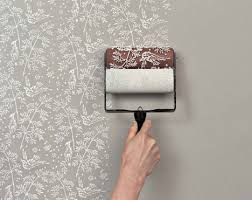 Patterned Paint Roller Home Depot Enchanting Wallpaper Paint Rollers Cool Classic Patterns DIY Style Urbanist