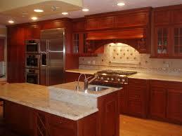 Innovation Kitchen Backsplash Cherry Cabinets Surprising Full Version S With Models Design