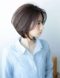 大人ミセスのショートの髪型yr 345 ヘアカタログ髪型ヘア
