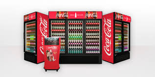 Coca Cola Touch Screen Vending Machine Magnificent Equipment