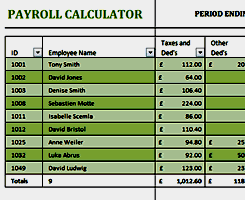 excel payroll template business and finance free excel templates from activia training