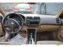 2003 Honda Civic LX Coupe in Shoreline Mist Metallic photo #7 ...