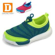 Breathable Children Shoes <b>2019 New Kids Shoes</b> Strech Fabric ...
