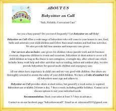 Short Notice Babysitter Pin By Babysitters On Call On Babysitters On Call Pinterest