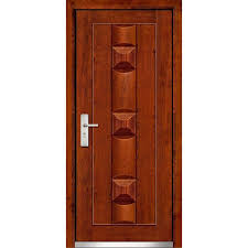 Image Entry Hinged Brown Single Wooden Door Indiamart Hinged Brown Single Wooden Door Rs 5000 piece Pvk Timber Trading