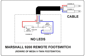 marshall footswitch wiring diagram marshall diy wiring diagrams marshall footswitch wiring diagram description please let me know if you require any clarification on the wiring