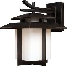 asian inspired lighting. Visit The Home Depot To Buy Titan Lighting Kanso Outdoor Hazelnut Bronze Wall Sconce Asian Inspired