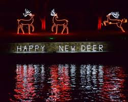<b>Happy New Deer</b> - Picture of Christmas on the Pecos, Carlsbad ...