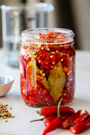 easy quick pickled chillies simply