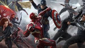 captain america civil war fight iron man concept art wallpaper