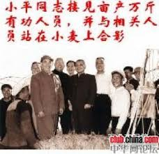 Image result for 邓小平亩产万斤