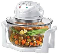 3 gallon glass bowl convection oven