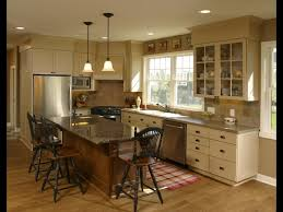 kitchen island seating on three sides - Google Search