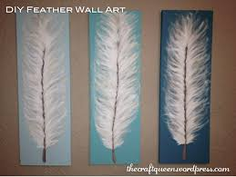 made from scratch diy feather wall art the craft qu on fresh inspiration feather wall art