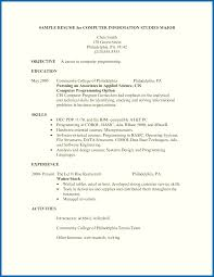 Restaurant Resume Samples Restaurant Resume Skills Brilliant Ideas Of Resume Samples 17