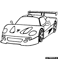 Small Picture Ferrari F50 Coloring Page Online Coloring