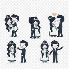 Cute Couple Png Couple Love Cartoon Png Download 1200 1200 Free