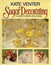 Ingles Floral Vesiv Libro Sugar Decorating Filigree Flowers Flooding En Ingles