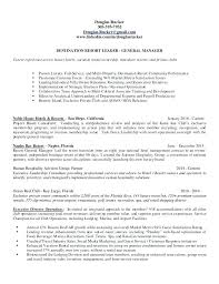 General Manager Resume Example General Manager Resume Sample General ...