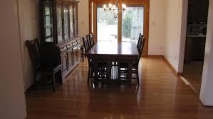 hardwood floor after buffing