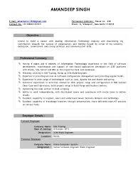 release engineer resumes