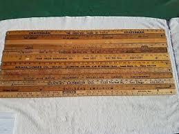 7 of 8 12 vintage wood yardsticks lumber hardware craftsman solana beach san go