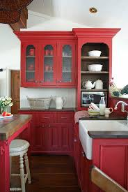 Red Country Kitchen Cabinets 335 Best Images About Kitch Painted Finish On Pinterest Green