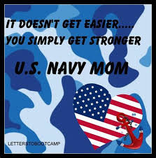 Image result for navy quote it doesn't get easier we get stronger