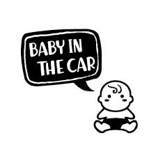 ベイビーインカー ステッカー 車 ベイビーオンボード Baby In Car 069d