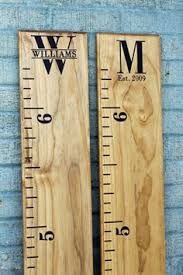 2x4 Ruler Growth Chart Love This Growth Chart Need To Get A 2x4 Make One For My