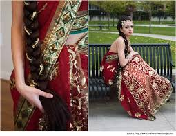hairstyles for sarees rope briad hairstyle