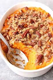 sweet potato casserole recipe.  Potato The Best Easy Sweet Potato Casserole Recipe Card With A