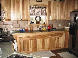 Hickory Kitchen Cabinets Home Depot Inspirational Natural Wood  Review Hickory Wood Cabinets82