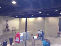 Basement Remodel Floor Plan With Exposed Ductwork - Exposed basement ceiling