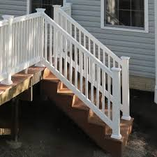 Completed Composite Deck Stairs