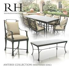 just arrived restoration hardware outdoor furniture wealth antibes collection 3d
