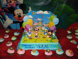 Exquisite Birthday Girls Then Mickey Mouse Clubhouse Birthday Cake