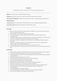 Respiratory Therapist Resume Templates Beautiful 22 Best Resumes And