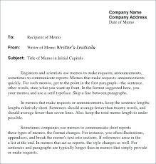 Memos Business Company Memo Template Onedaystartsnow Co