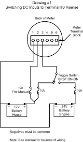 blue seas voltmeter wiring the portal and forum of wiring diagram • switching inputs to digital meters part i blue sea systems rh bluesea com automotive voltmeter wiring voltmeter wiring diagram
