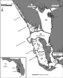 Local Tide Chart Charlotte Harbor Charlotte Harbor Pine Island Sound Chpis Study Area