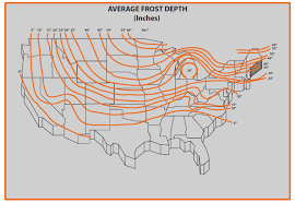 Indiana Frost Depth Chart How Where Can I Find Out What The Frost Line Is For My Area